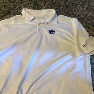 Kansas State Nike polo golf